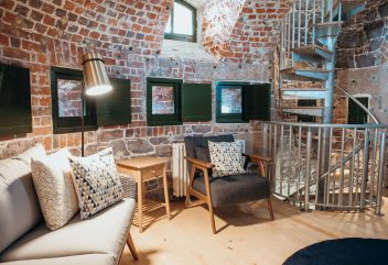 Archirondel Tower – Living area ©D.R. – Îles anglo-normandes / Jersey