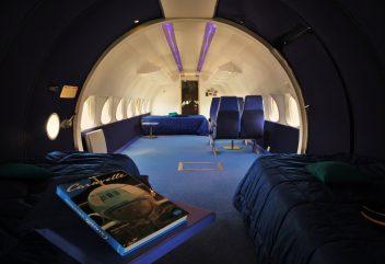 La Ferme-Aventure – Intérieur de l'avion ©D.R.