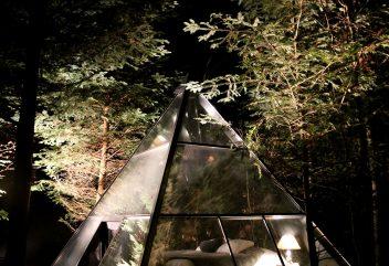 La Ferme-Aventure – Nuité dans la pyramide ©D.R.