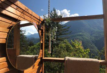 La Cabane du Val – Douche ©D.R.