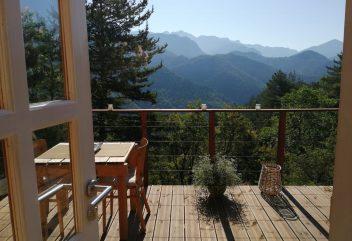 La Cabane du Val – Terrasse ©D.R.