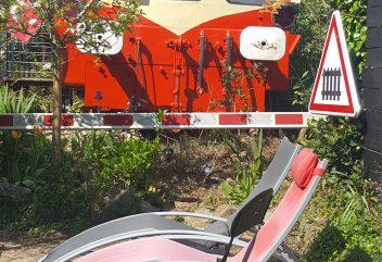 L'auberge du chemin de fer – Autorail Picasso / Extérieur ©D.R.