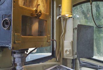 L'auberge du chemin de fer – Autorail Picasso / Cabine de pilotage ©D.R.