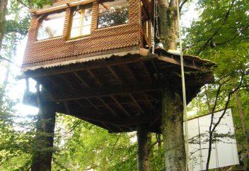 L'Éco Source Arboricole – Cabane Charles ©D.R. – Nouvelle-Aquitaine / Creuse