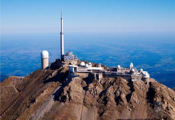 L'observatoire du Pic du Midi – Vue aérienne ©DominiqueVIET